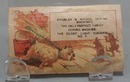 Victorian Trade Card Wheeler & Wilson Sewing Machines 1800's