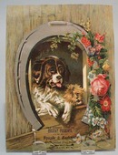 Victorian Trade Card Spayde & Cookson;s Puppies late 1800's