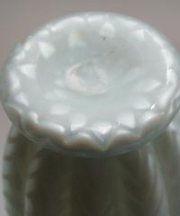 Mother of Pearl Blue and White Pitcher with