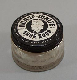 Nurse White Shoe Soap by Cavalier.