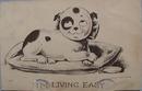 I'm Living East Humorous Post Card