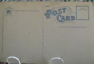 Post Office Johnstown, NY  Post Card