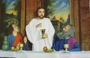 Last Supper Scene Passion Play Postcard