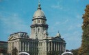 Ill. State Capitol Close-up Postcard