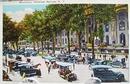 Broadway, Saratoga Springs NY Postcard