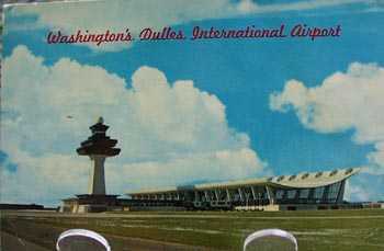Washington's Dulles Airport Postcard