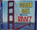 Golden Gate Draft Beer Bottle Label.