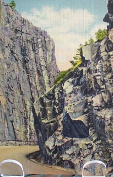 Pillars of Hercules Colorado Postcard