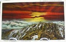 Summit At Sunrise Pikes Peak Colo  PC