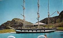 Replica Whaling Ship Essex Postcard