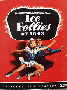 Ice Follies 1943 Program.