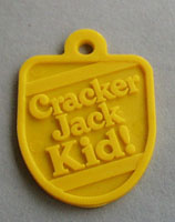 Cracker Jack Key Chain Tag