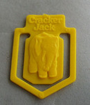 Cracker Jack Toy Elephant Book Mark