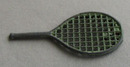 Cracker Jack Tennis Racket Plastic Toy