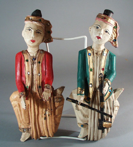 Wooden Wall Hanging Musicians,