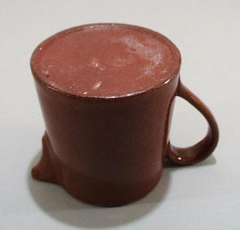 Redware old cream pitcher.