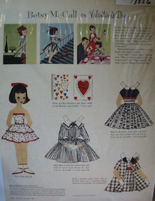 Betsy McCall Valentine Day Ad 1957