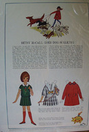 Betsy McCall Dog Walking Ad 1964.