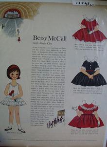 Betsy McCall Visits Radio City Ad 1960