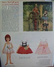 Betsy McCall Fairy Tale Land Ad 1962