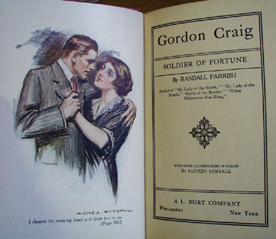 Gordon Craig Soldier of Fortune Book by Randall Parrish.