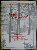 Hoosier Songbook Pub by Indiana University Alumni Assn.