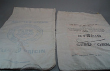 Pair of Cloth Seed Bags