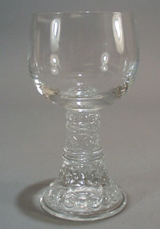 German Stem Wine Glass.
