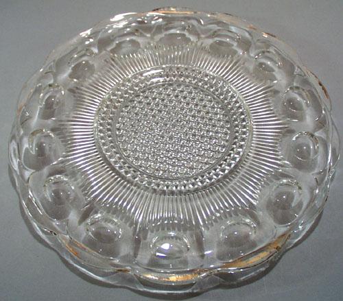 US Glass Manhattan plate/platter 10 3/4