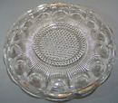 US Glass Manhattan plate/platter 10 3/4