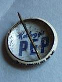 Pep Pinback button 1946 Casper