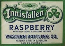 Innisfallen Raspberry Bottle Label