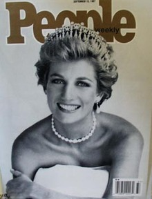 Princess Di on cover People Magazine 1997