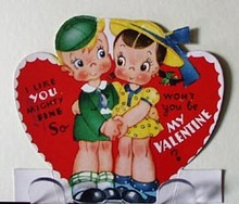 Couple Holding Hands Valentine.