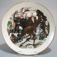 Chicago Field Museum Ltd Ed. 1980 collector plate.