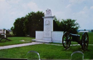 Harrisburg Battle Monument Tupelo Miss PC