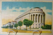 Fed Trade Bldg Washington DC Postcard