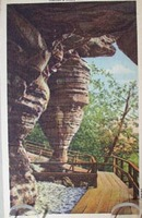 Hornets Nest Wisc Dells Wisc Postcard