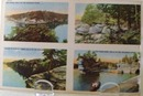 Wisc. Dells Four Scenes Wis. Post Card