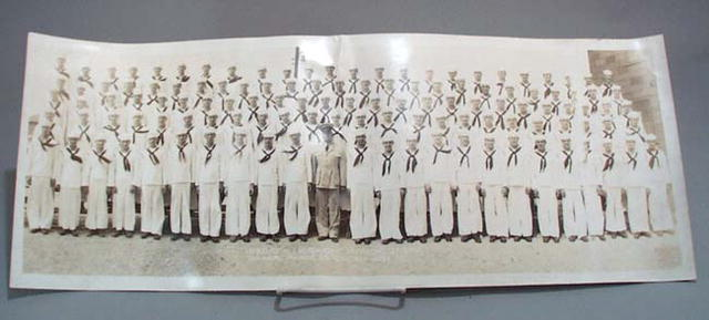 U S Naval Graduating Class Photo 1942.