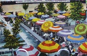 Rockefeller Restaurant NYC Postcard