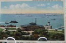 Aquarium in Battery Park NY Postcard