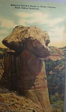 Petrified Stump No. Dakota Postcard.