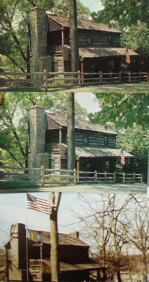 Oldest House in Cincinnati Postcards