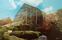 Eden Park Conservatory Cinn O Postcard