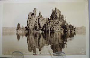 Phantom Ship Crater Lake Ore Postcard