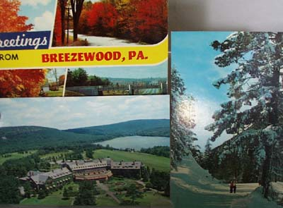Three Sites in Penna Postcards