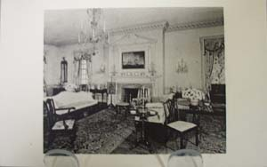 Parlor from Port Royal  Pa Postcard