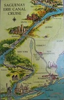 Saguenay Erie Canal Cruise Postcard