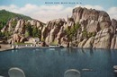 Sylvan Lake Linen  SD Linen Postcard